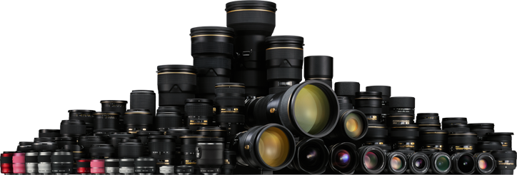 lots of lenses